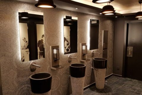 chateau du lac,, klooster, hotel, design, belgium, interior, architect, designer, hospitality, martin's, john, gabriel, martin, champels, creative, hospitality, decoration, luxury, boutique, unique, firm, toilettes, schweppes