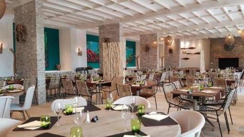 Pairi Daiza Resort - Octopus restaurant